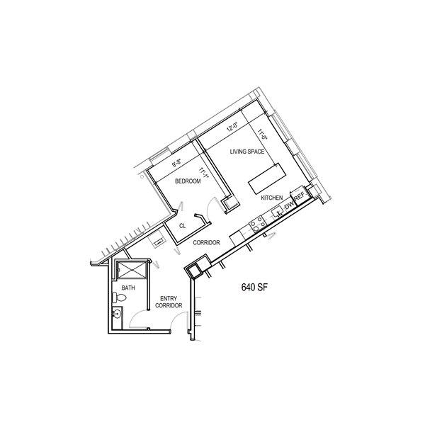Floor-Plan-1A-640-SqFt
