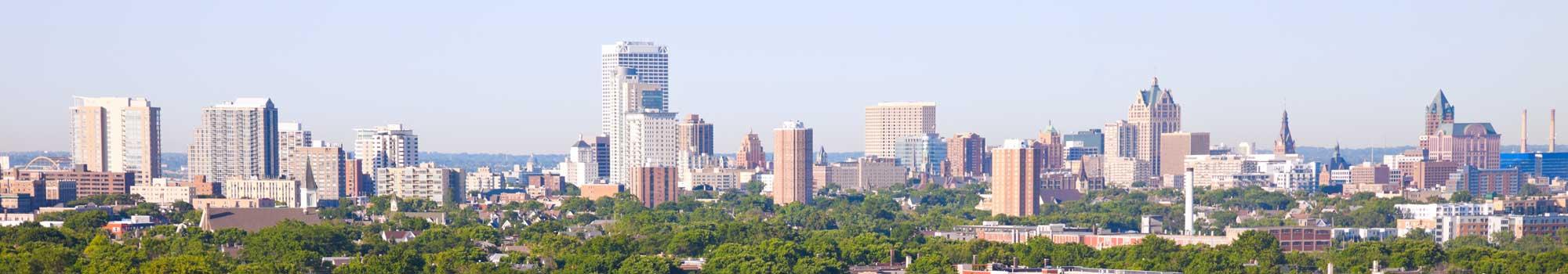 Milwaukee Skyline Header 2000 Mke Lofts Apartments